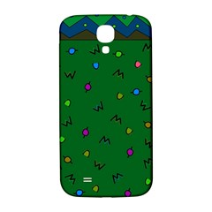 Green Abstract A Colorful Modern Illustration Samsung Galaxy S4 I9500/I9505  Hardshell Back Case