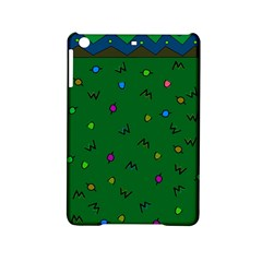 Green Abstract A Colorful Modern Illustration Ipad Mini 2 Hardshell Cases