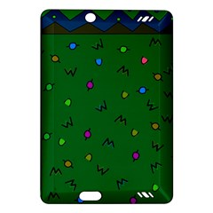 Green Abstract A Colorful Modern Illustration Amazon Kindle Fire HD (2013) Hardshell Case