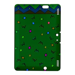 Green Abstract A Colorful Modern Illustration Kindle Fire Hdx 8 9  Hardshell Case