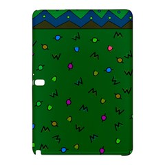 Green Abstract A Colorful Modern Illustration Samsung Galaxy Tab Pro 10.1 Hardshell Case