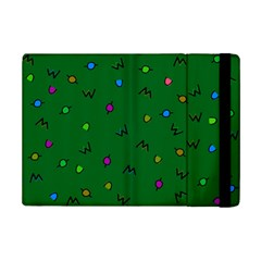 Green Abstract A Colorful Modern Illustration iPad Mini 2 Flip Cases