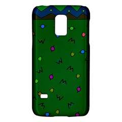 Green Abstract A Colorful Modern Illustration Galaxy S5 Mini