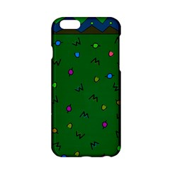 Green Abstract A Colorful Modern Illustration Apple Iphone 6/6s Hardshell Case