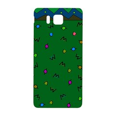 Green Abstract A Colorful Modern Illustration Samsung Galaxy Alpha Hardshell Back Case