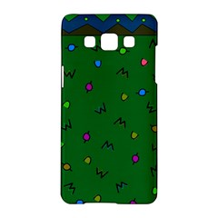 Green Abstract A Colorful Modern Illustration Samsung Galaxy A5 Hardshell Case