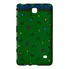 Green Abstract A Colorful Modern Illustration Samsung Galaxy Tab 4 (8 ) Hardshell Case