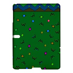 Green Abstract A Colorful Modern Illustration Samsung Galaxy Tab S (10.5 ) Hardshell Case