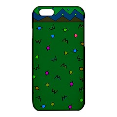 Green Abstract A Colorful Modern Illustration iPhone 6/6S TPU Case