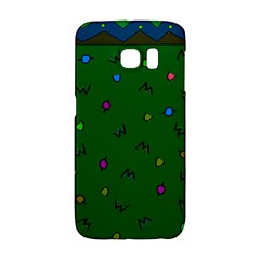 Green Abstract A Colorful Modern Illustration Galaxy S6 Edge