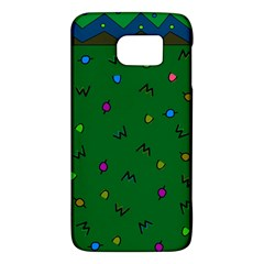 Green Abstract A Colorful Modern Illustration Galaxy S6