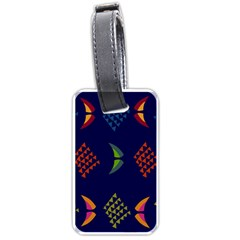 Abstract A Colorful Modern Illustration Luggage Tags (One Side)