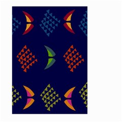 Abstract A Colorful Modern Illustration Large Garden Flag (two Sides)