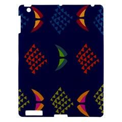 Abstract A Colorful Modern Illustration Apple Ipad 3/4 Hardshell Case