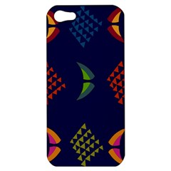 Abstract A Colorful Modern Illustration Apple iPhone 5 Hardshell Case
