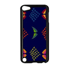 Abstract A Colorful Modern Illustration Apple iPod Touch 5 Case (Black)