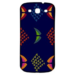 Abstract A Colorful Modern Illustration Samsung Galaxy S3 S III Classic Hardshell Back Case