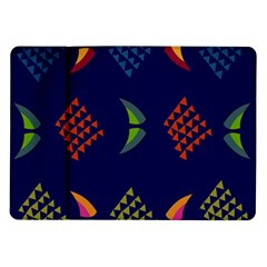 Abstract A Colorful Modern Illustration Samsung Galaxy Tab 10 1  P7500 Flip Case