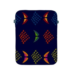 Abstract A Colorful Modern Illustration Apple Ipad 2/3/4 Protective Soft Cases