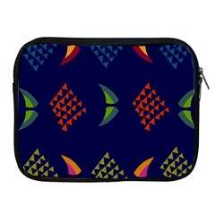Abstract A Colorful Modern Illustration Apple iPad 2/3/4 Zipper Cases