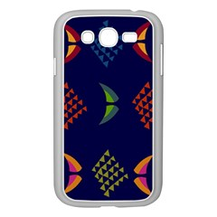 Abstract A Colorful Modern Illustration Samsung Galaxy Grand DUOS I9082 Case (White)