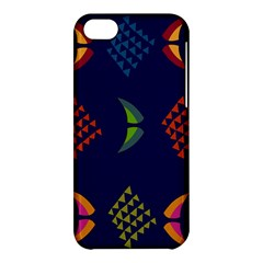 Abstract A Colorful Modern Illustration Apple iPhone 5C Hardshell Case