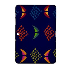 Abstract A Colorful Modern Illustration Samsung Galaxy Tab 2 (10 1 ) P5100 Hardshell Case