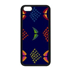 Abstract A Colorful Modern Illustration Apple iPhone 5C Seamless Case (Black)