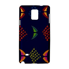 Abstract A Colorful Modern Illustration Samsung Galaxy Note 4 Hardshell Case