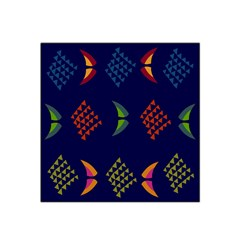 Abstract A Colorful Modern Illustration Satin Bandana Scarf