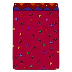 Red Abstract A Colorful Modern Illustration Flap Covers (s)
