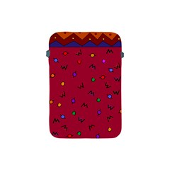 Red Abstract A Colorful Modern Illustration Apple iPad Mini Protective Soft Cases