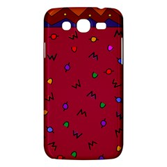 Red Abstract A Colorful Modern Illustration Samsung Galaxy Mega 5.8 I9152 Hardshell Case