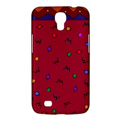 Red Abstract A Colorful Modern Illustration Samsung Galaxy Mega 6.3  I9200 Hardshell Case