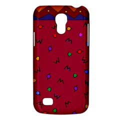 Red Abstract A Colorful Modern Illustration Galaxy S4 Mini
