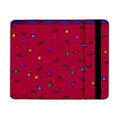 Red Abstract A Colorful Modern Illustration Samsung Galaxy Tab Pro 8.4  Flip Case