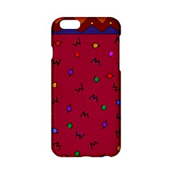 Red Abstract A Colorful Modern Illustration Apple iPhone 6/6S Hardshell Case