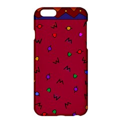 Red Abstract A Colorful Modern Illustration Apple iPhone 6 Plus/6S Plus Hardshell Case