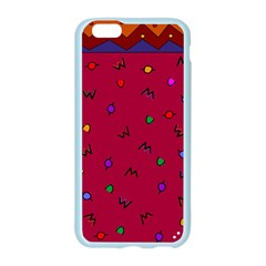 Red Abstract A Colorful Modern Illustration Apple Seamless iPhone 6/6S Case (Color)