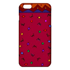 Red Abstract A Colorful Modern Illustration iPhone 6 Plus/6S Plus TPU Case