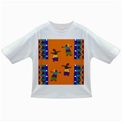 A Colorful Modern Illustration For Lovers Infant/toddler T Shirts