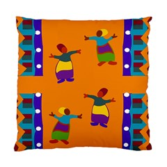 A Colorful Modern Illustration For Lovers Standard Cushion Case (one Side)