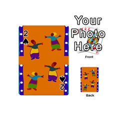 A Colorful Modern Illustration For Lovers Playing Cards 54 (Mini)