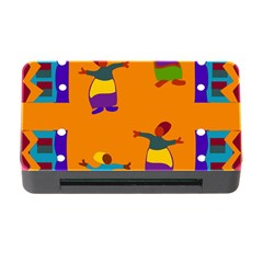 A Colorful Modern Illustration For Lovers Memory Card Reader With Cf