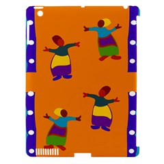 A Colorful Modern Illustration For Lovers Apple iPad 3/4 Hardshell Case (Compatible with Smart Cover)