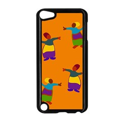 A Colorful Modern Illustration For Lovers Apple Ipod Touch 5 Case (black)