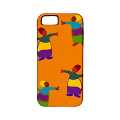 A Colorful Modern Illustration For Lovers Apple iPhone 5 Classic Hardshell Case (PC+Silicone)