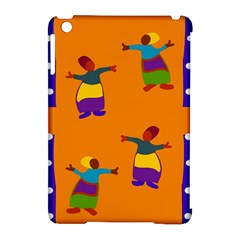 A Colorful Modern Illustration For Lovers Apple Ipad Mini Hardshell Case (compatible With Smart Cover)