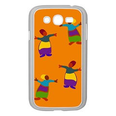 A Colorful Modern Illustration For Lovers Samsung Galaxy Grand Duos I9082 Case (white)