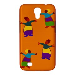 A Colorful Modern Illustration For Lovers Samsung Galaxy Mega 6.3  I9200 Hardshell Case